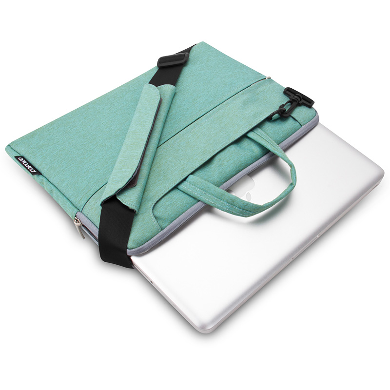 Túi máy tính Pofoko Seattle 13' màu xanh