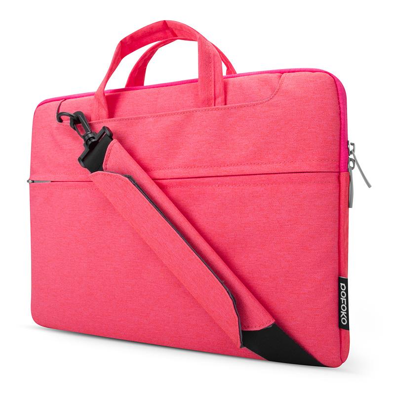 Túi máy tính Pofoko Seattle 13' màu hồng